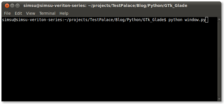 Loading A Window Created Using GLADE in Python - Subin's Blog