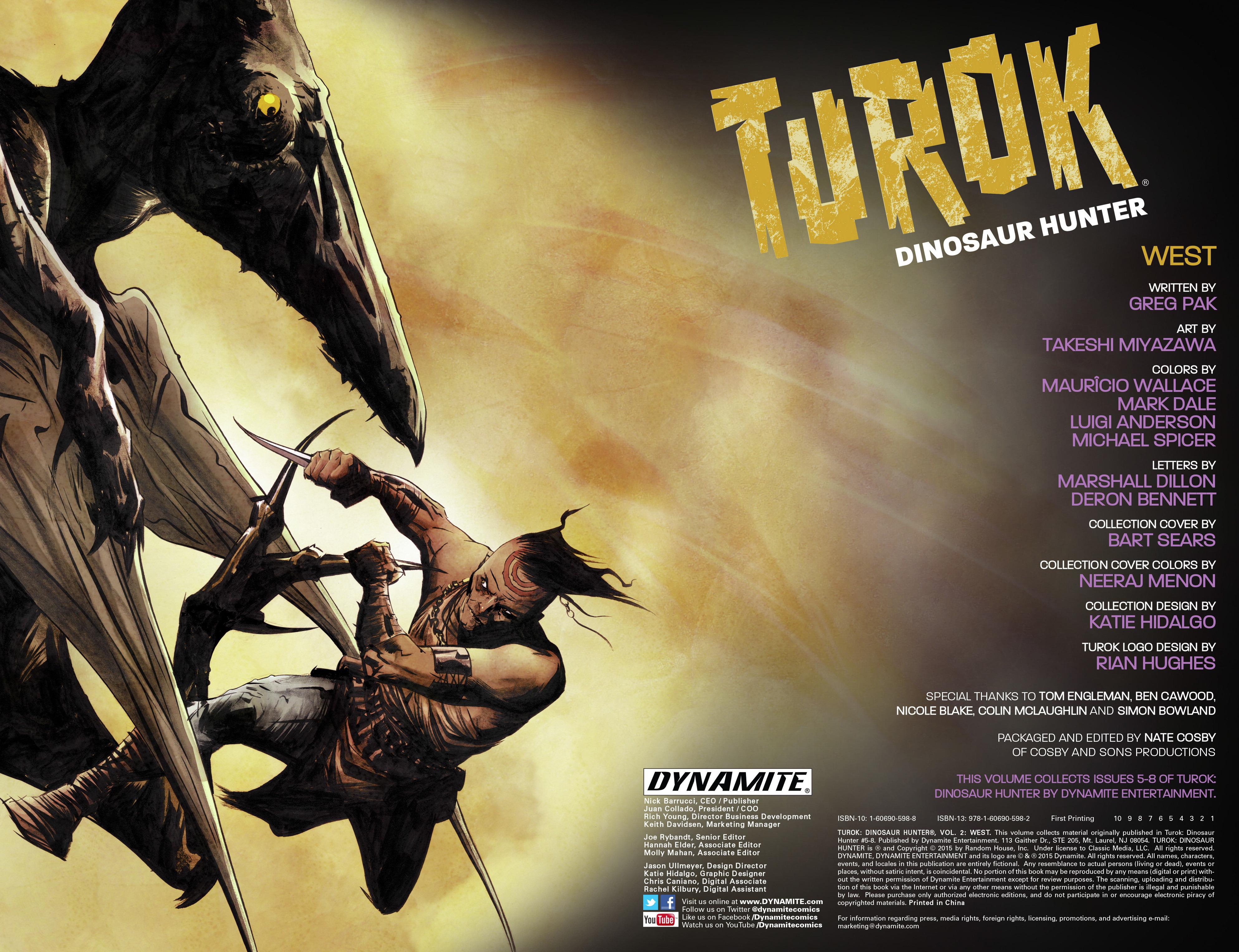 Read online Turok: Dinosaur Hunter (2014) comic -  Issue # _TPB 2 - 3
