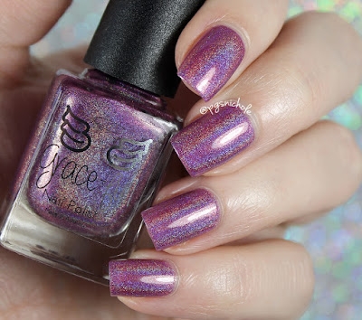 Grace-Full Nail Polish Purple Lotus | Delicate Neutrals
