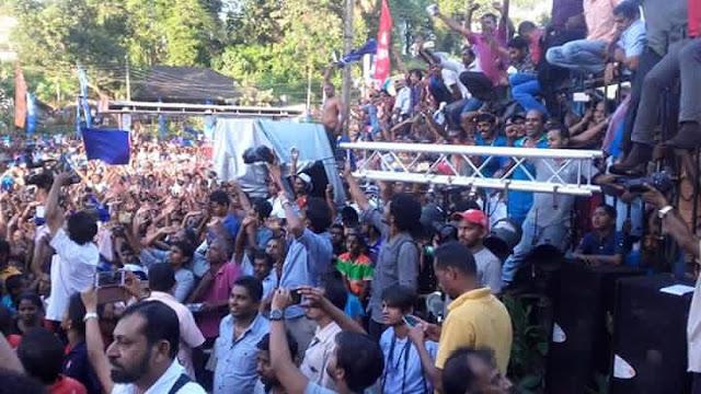 Joint Opposition Rally at Ratnapura