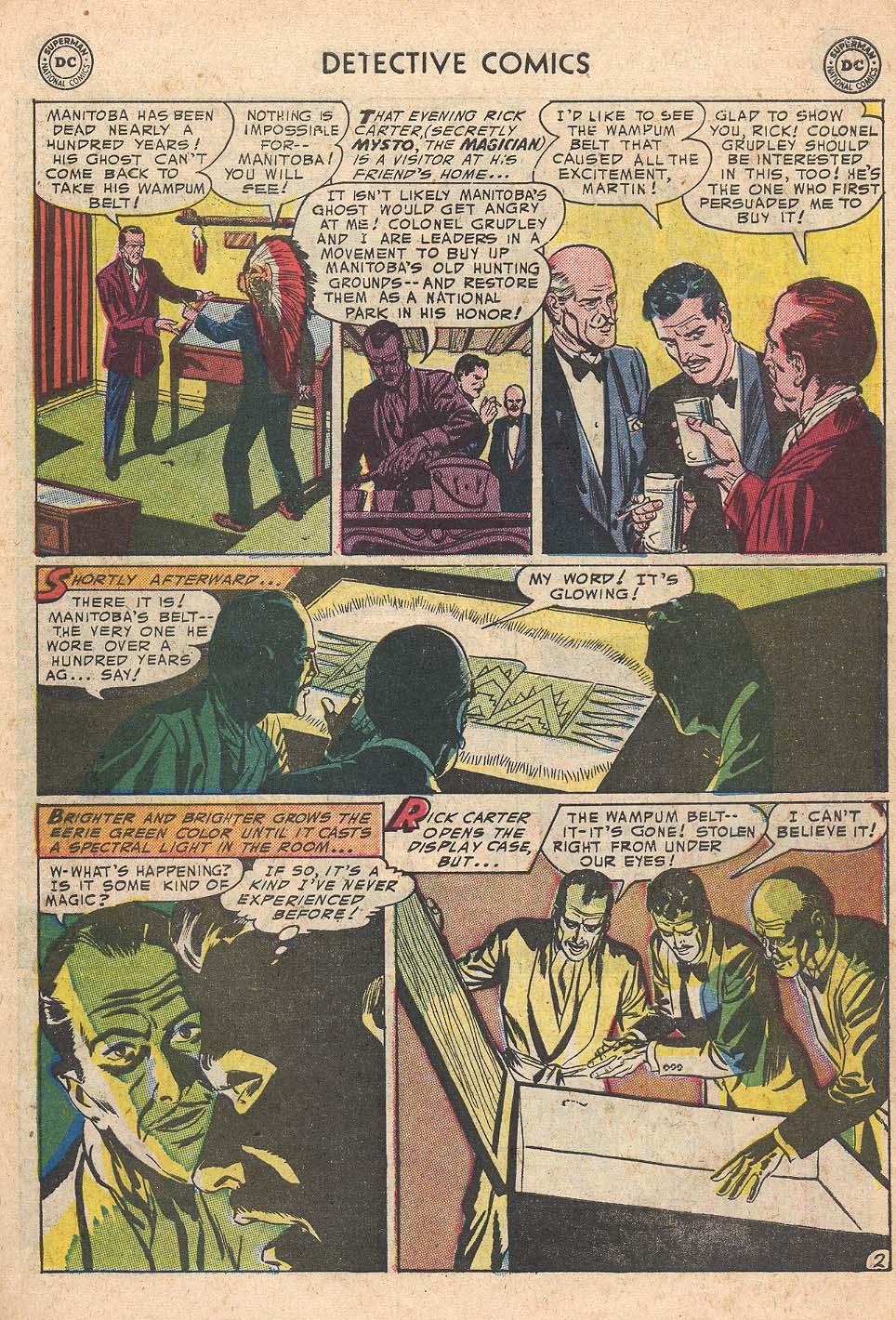 Read online Detective Comics (1937) comic -  Issue #210 - 35