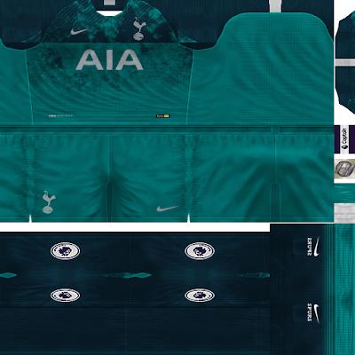 PES 6 Kits Tottenham Hotspur Season 2018/2019 by FacaA/Ngel
