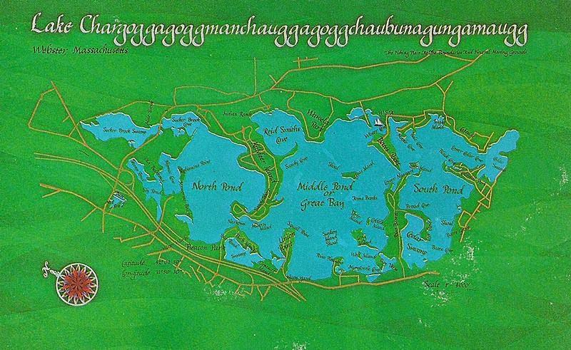 Lake Chargoggagoggmanchauggagoggchaubunagungamaugg