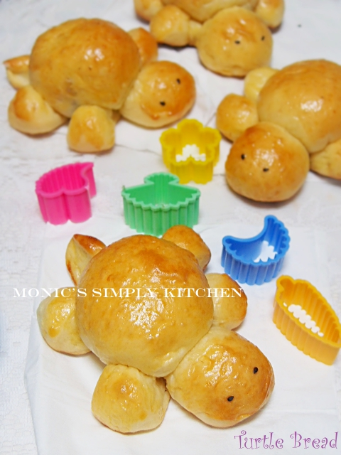 resep turtle bread