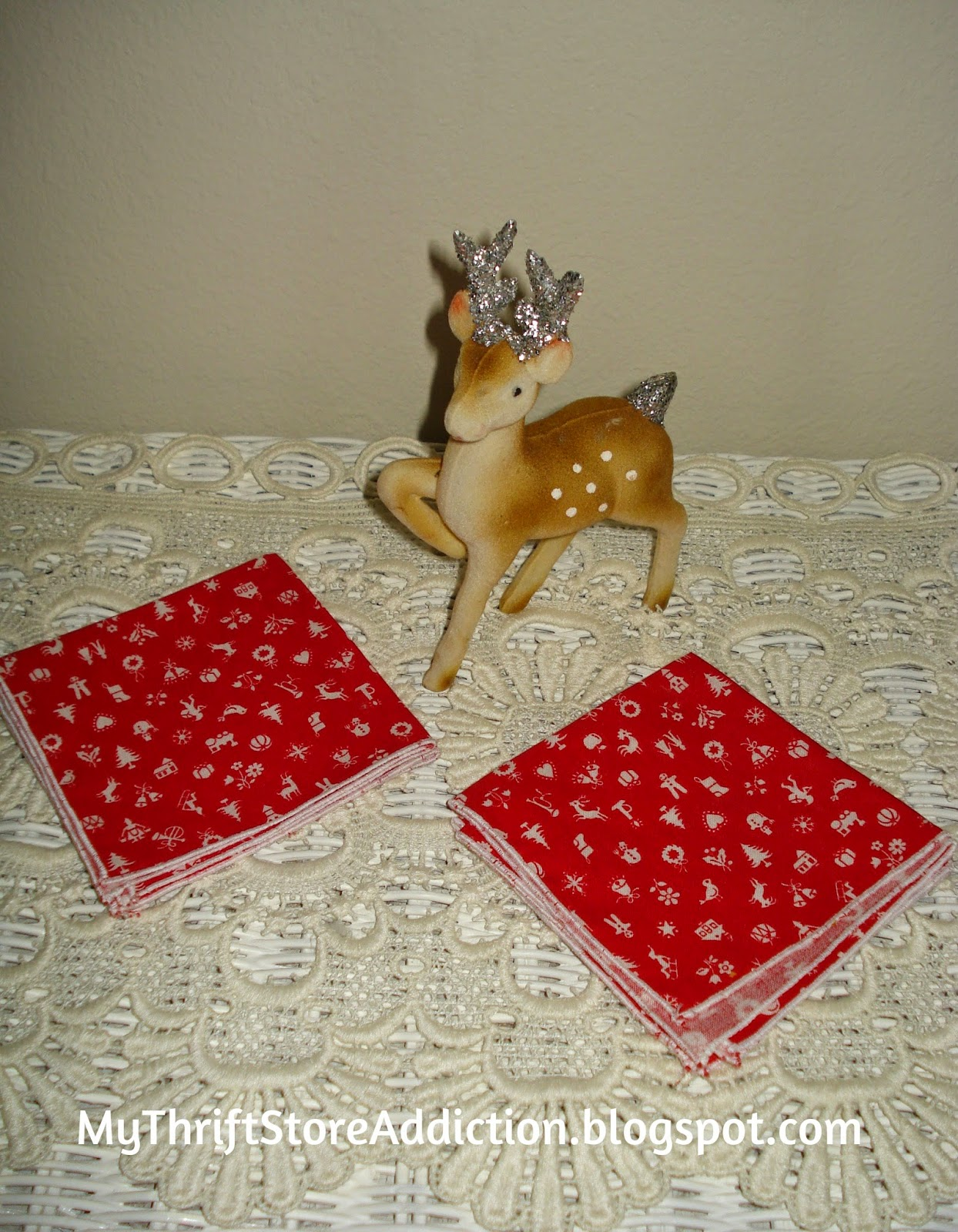 Christmas cocktail napkins