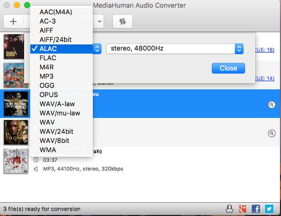 تحميل برنامج MediaHuman Audio Converter لتغير صيغ الملفات الصوتية 2018 برابط مباشر