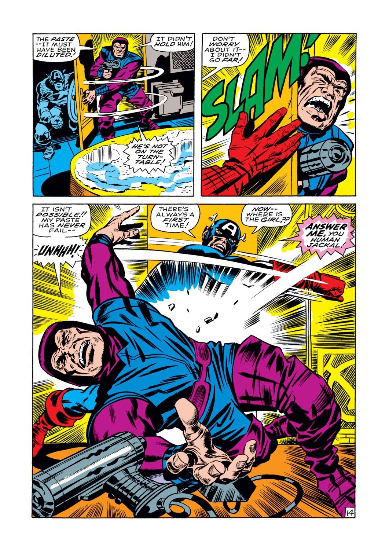 Read online Captain America (1968) comic -  Issue #108 - 15