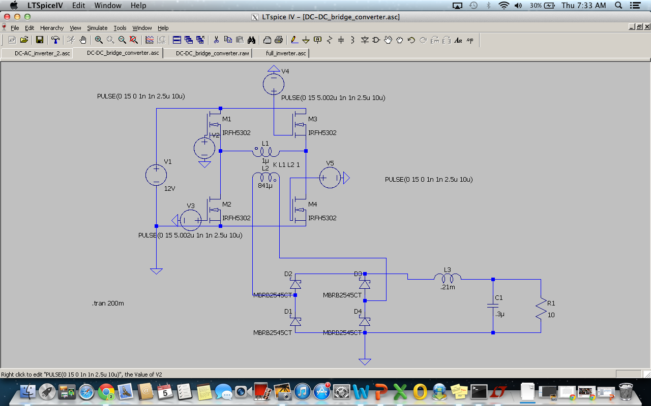 152 final project- Full Bridge Inverter