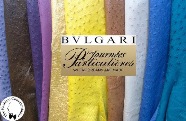 LVMH Les Journées Particulières - visit to the Bulgari accessory factory in Florence
