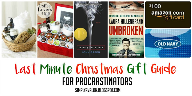 Last Minute Christmas Gift Guide for the Procrastinator