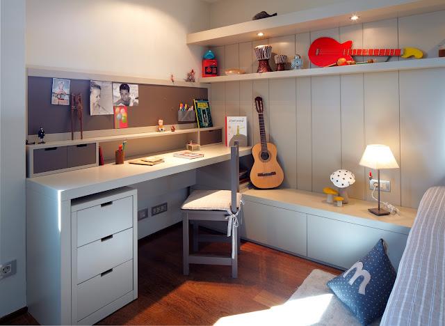 La habitación juvenil ideal para tus hijos