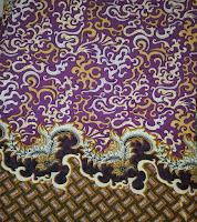 Kain Batik Prima 5006 Ungu