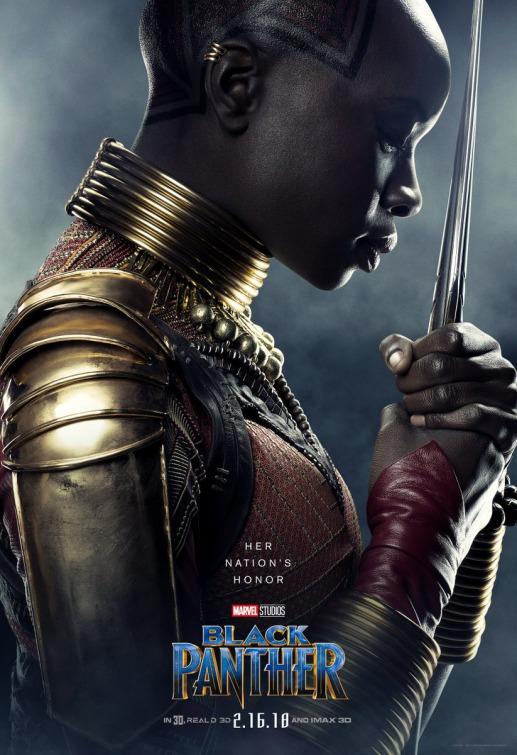 Black Panther Okoye poster