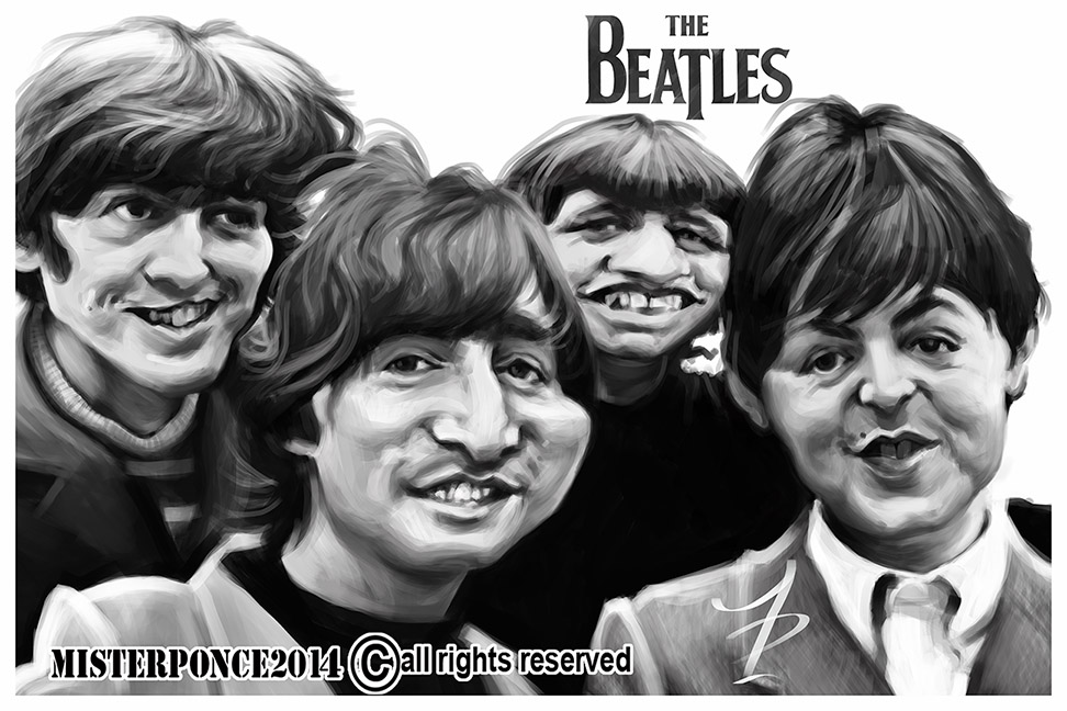 The Beatles por Misterponce