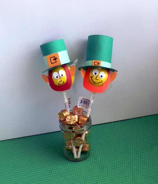 Leprechaun treats, St. Patrick's Day treats, St. Patty's treats for kids