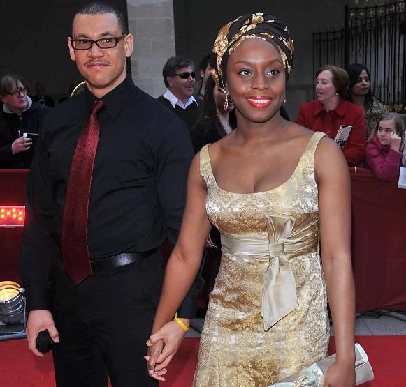 Chimamanda Ngozi Adichie and Ivara Esege