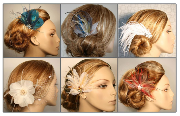 Hair Pieces For Weddings Wedding Hairstyles With Veil