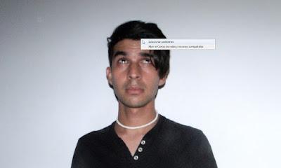 Foto artistica inpirada en la opcion de windows de solucionar problemas hecha en photoshop