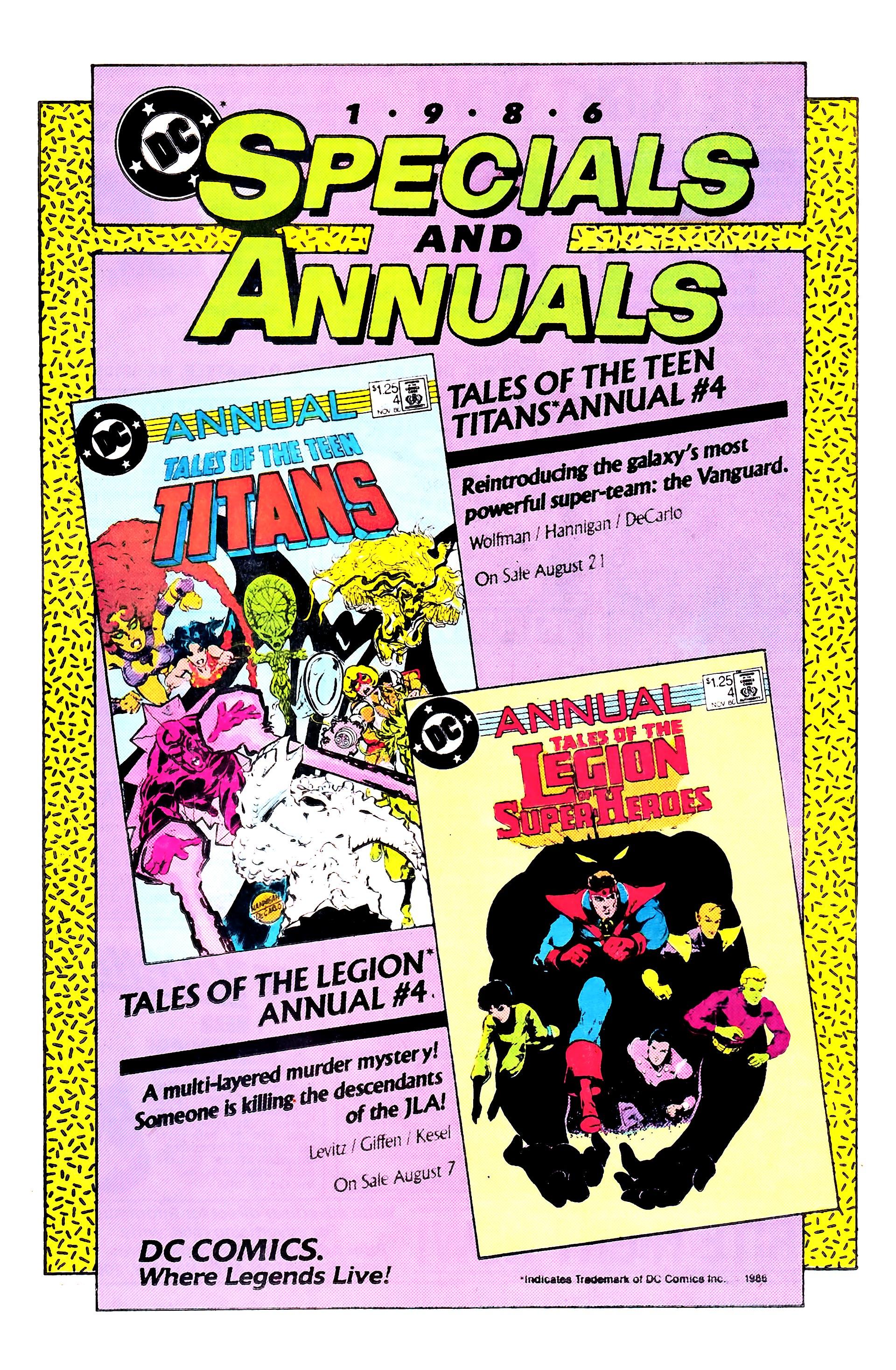 Read online Secret Origins (1986) comic -  Issue #8 - 40