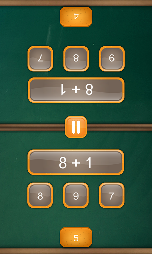 Fun Math Games - Cool Math Duel: 2 Player Game for Kids and