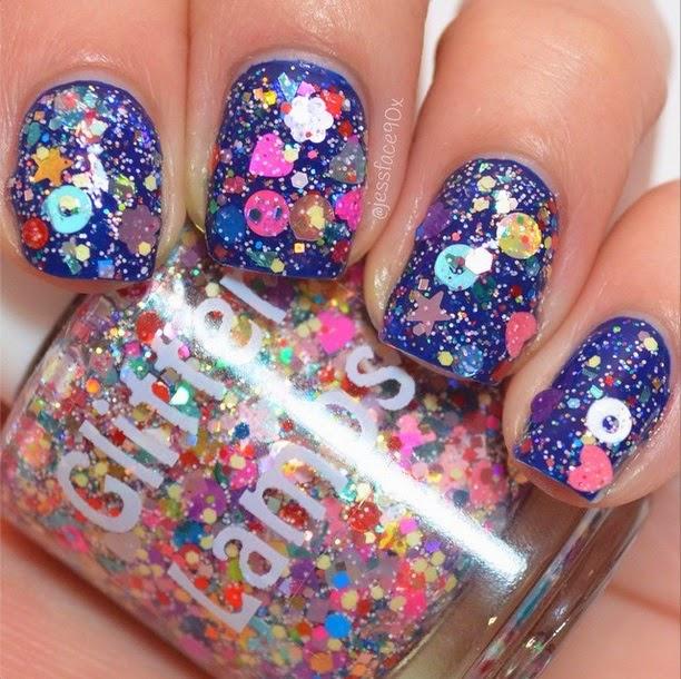 Glitter Lambs: Reindeer Games Glitter Nail Polish By ...