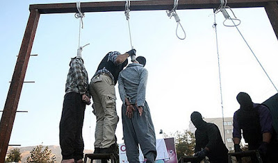 Mass execution in Iran (file photo)