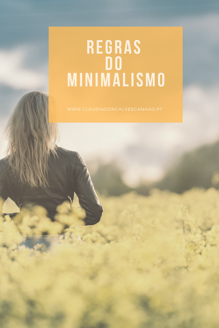 regras do minimalismo