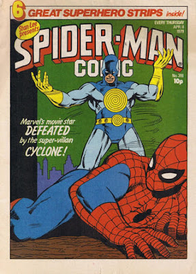 Spider-Man Comic #318, the Cyclone