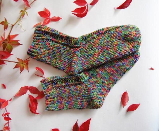 #handmade #crochet #socks #slippers #colorful #heegeldatud #sokid -crochet -socks