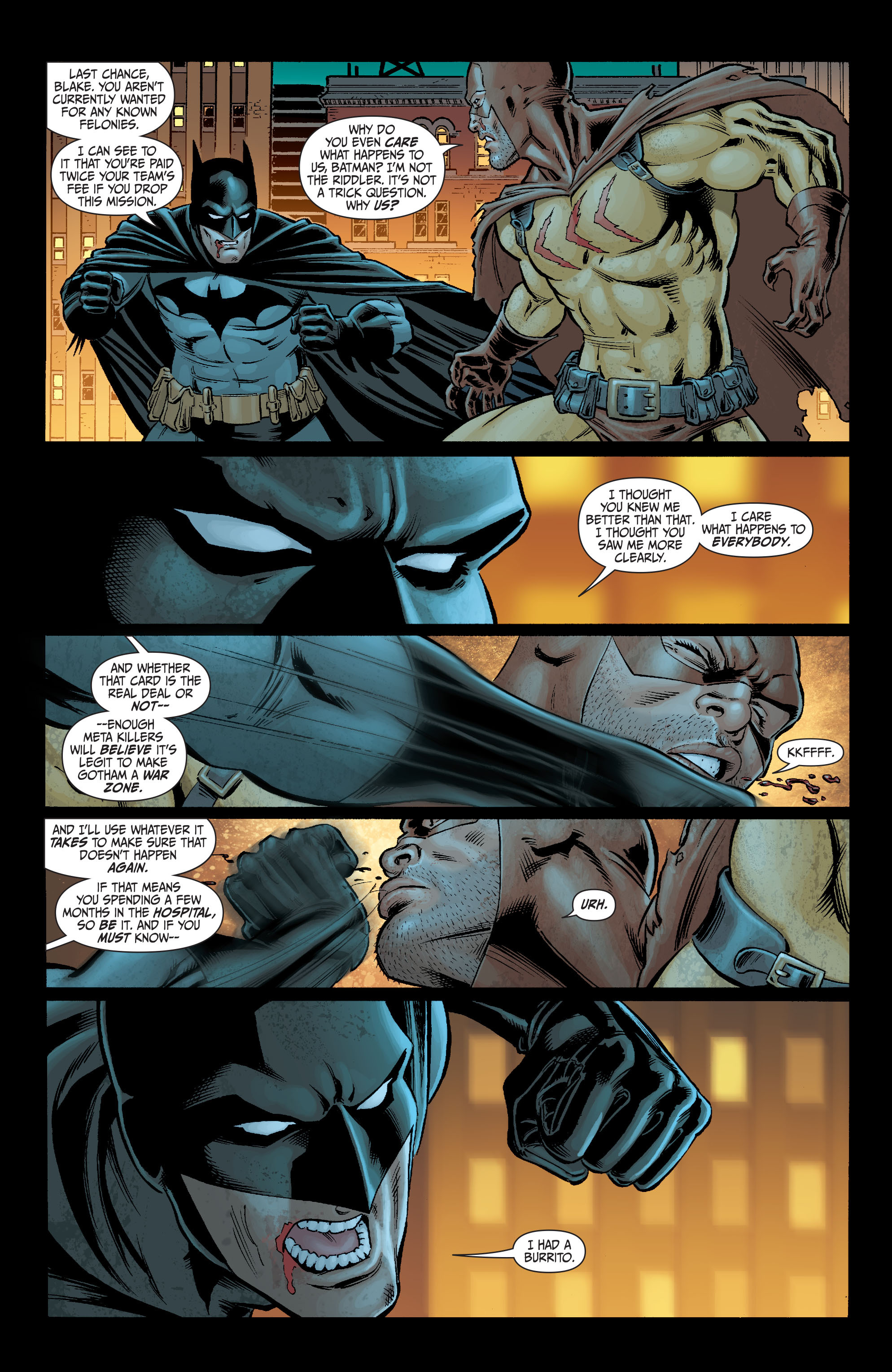 Read online Secret Six (2008) comic -  Issue #2 - 20