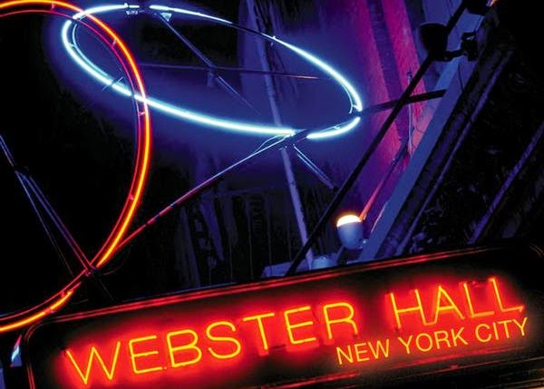 Balada Webster Hall em Nova York