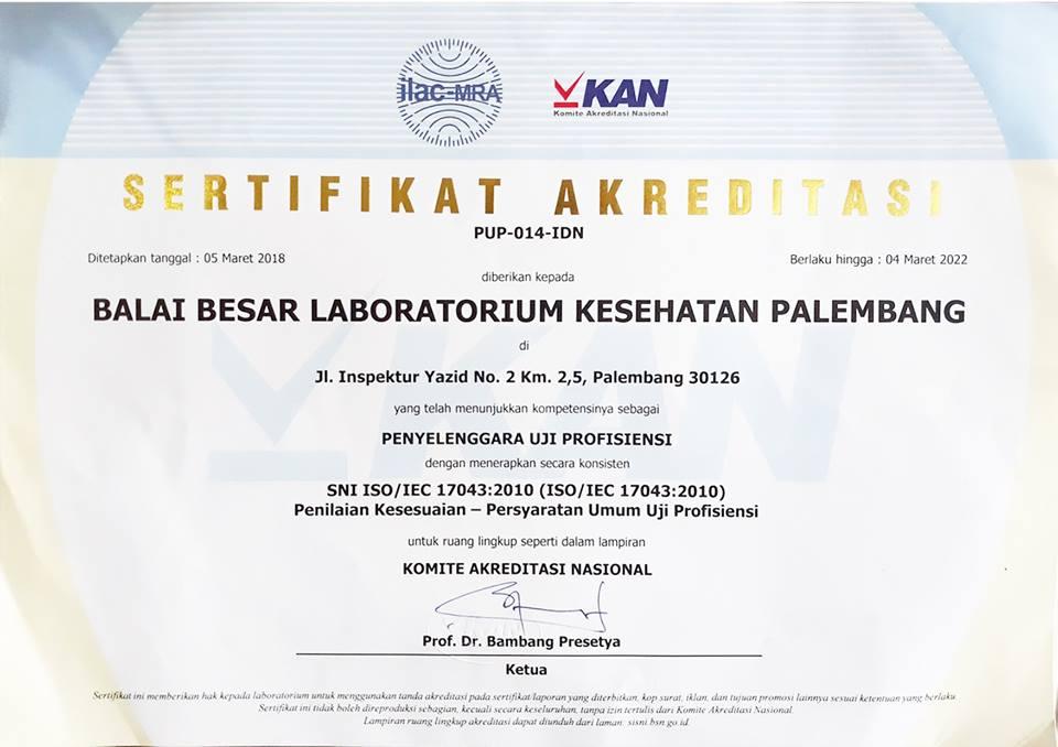 Sertifikat Penyelenggara PME