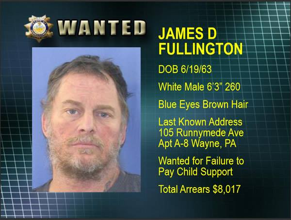 The Sandman wanted for failure to pay child support