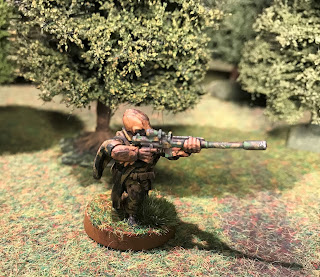 A sniper from the Rebel commandos for Star Wars Legion