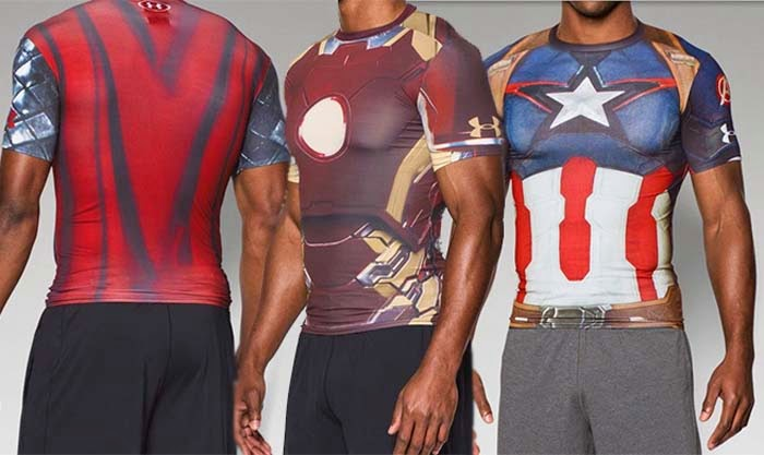 Under Armour se alía con Los Vengadores