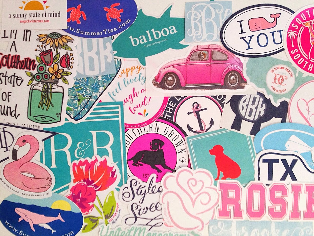 Related where to put preppy stickers