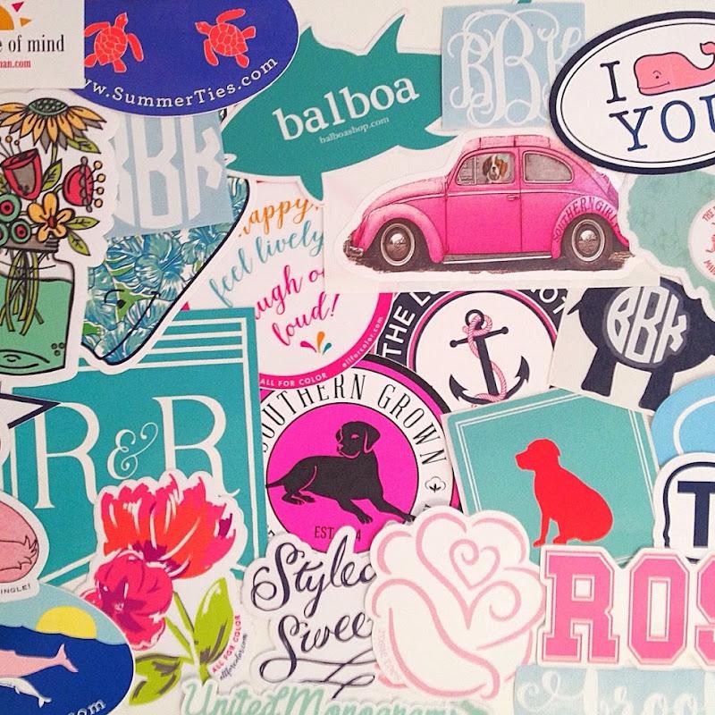 Where To Put Preppy Stickers