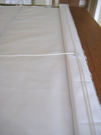 Hodge Podge How To Sew A Roman Blind