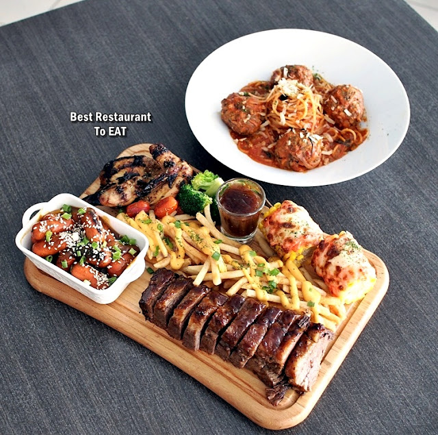 Jigger & Shaker Seremban New Year Eve Dinner Menu - Meat Platter