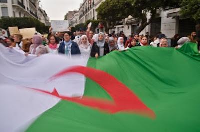 Les Algériens restent mobilisés un mois après le début de la contestation dans - ECLAIRAGE - REFLEXION a5