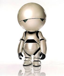 Le robot dépressif Marvin dans H2G2