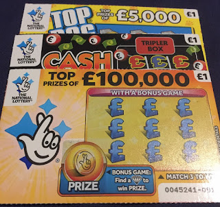 National Lottery Scratch Cards For February 2019