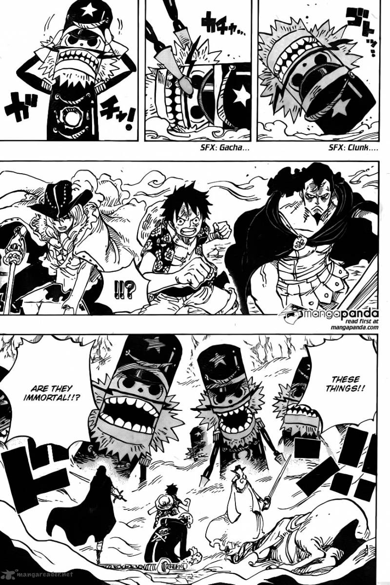 One Piece Ch 756: The 004th Level