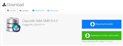 Download Aplikasi Dapodikmen Versi 8.4.0 Installer dan Patch