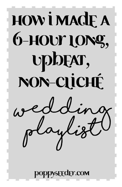 how to make a good wedding playlist pinterest