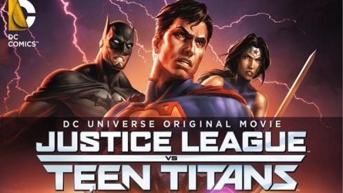 Liga da Justiça vs. Jovens Titãs (Justice League vs. Teen Titans) Torrent – WEBRip 720p Legendado (2016)