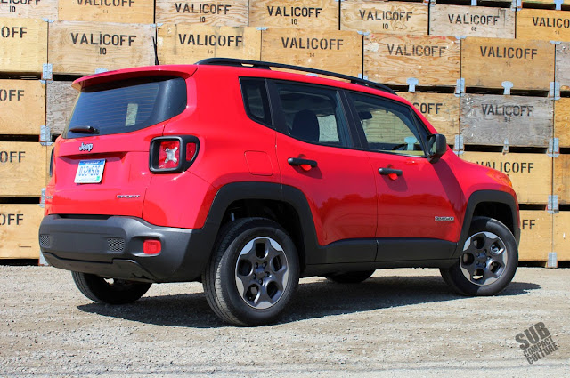 Jeep Renegade Sport Back End