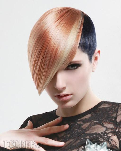 3d, tóc nữ, hair color