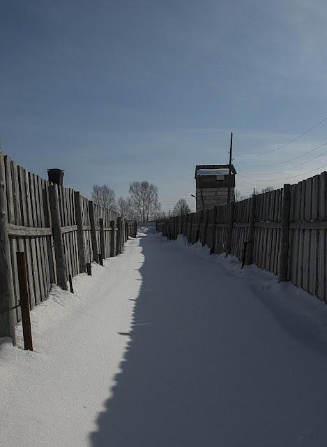 Centro Histórico da Repressão Política Perm-36 lembra as vítimas da repressão socialista soviética no ex-campo para prisioneiros em Perm, oeste da Sibéria, Rússia