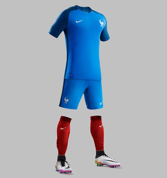 France Euro 2016 Home Kit